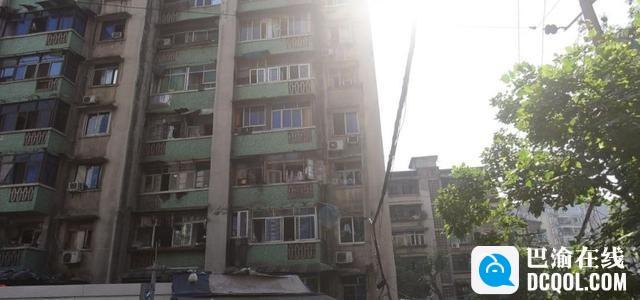 """重庆最""""尴尬""""的城中村:房屋老旧"""